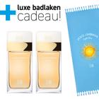 Dolce&Gabbana Light Blue Sun Pour Femme 2x 50ml + Badlaken