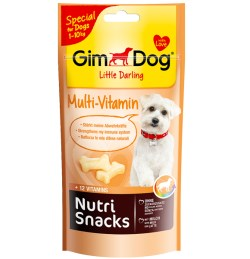 GIMDOG NUTRI SNACKS MULTI 40 GR
