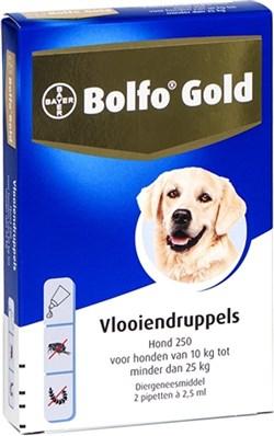 BOLFO GOLD HOND 250 10-25 KG 2 PIPETTEN