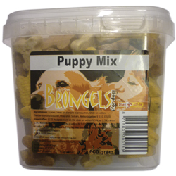 DIER ALL IN  EMMER KOEKJES PUPPY MIX 600 GR
