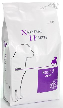 NATURAL HEALTH DOG BASIC 5 3KG