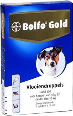 BOLFO GOLD HOND 100 4-10 KG 2 PIPETTEN