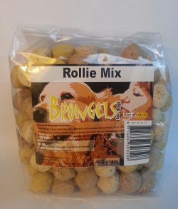 DIER ALL IN  KOEKJES ROLLIE MIX 400 GR ZAK