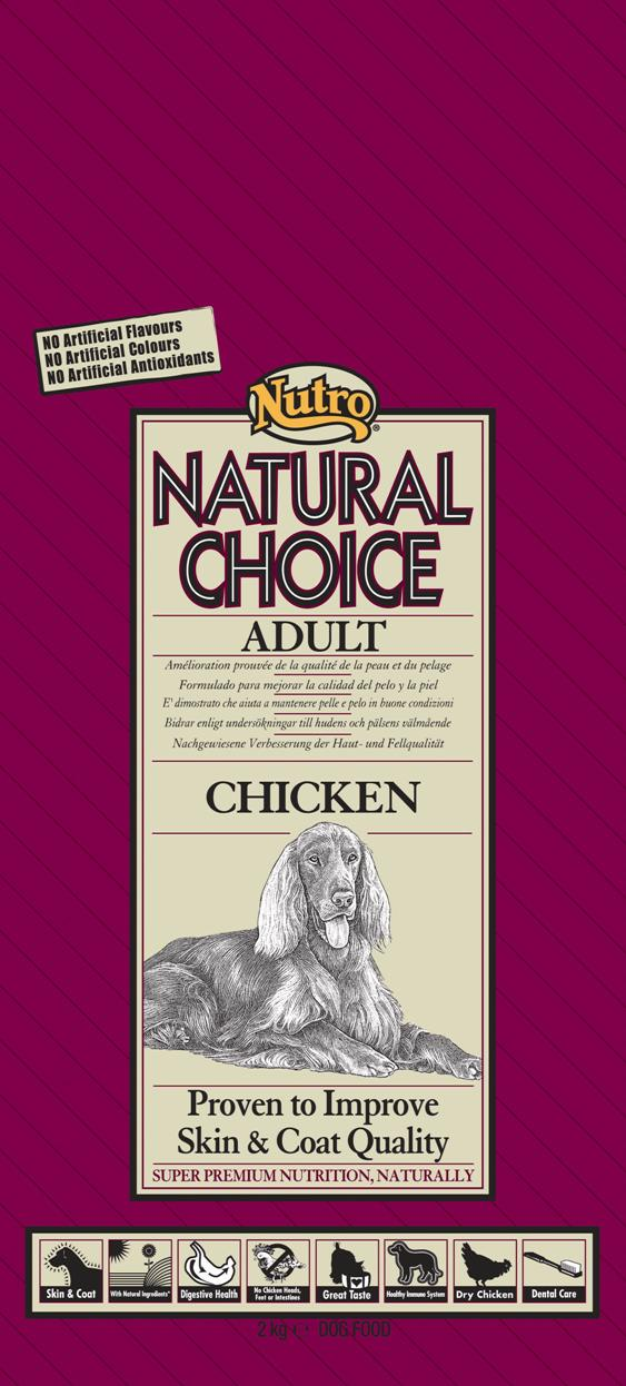 NUTRO ADULT CHICKEN/RICE 2 KG