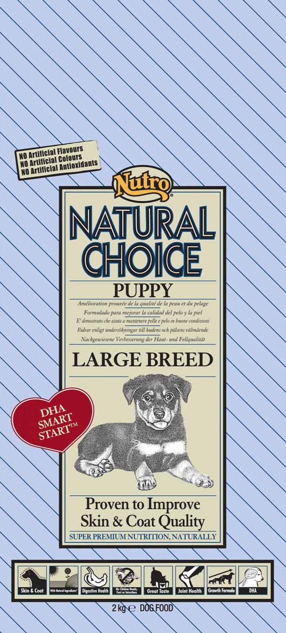 NUTRO PUPPY LARGE CHICKEN/RICE 2 KG