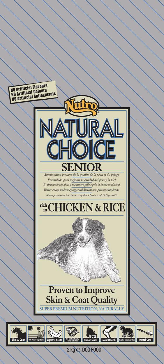 NUTRO SENIOR CHICKEN/RICE 10 KG