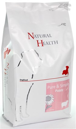 NATURAL HEALTH DOG LAM/RIJST PUPPY 0,4KG