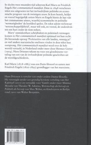 Het Communistisch Manifest Van Vantilt Uitgeverij