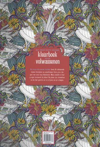 Kleurplaten Voor Volwassenen De Standaard.Het Enige Echte Enorme Kleurboek Voor Volwassenen Van Bbnc Uitgevers