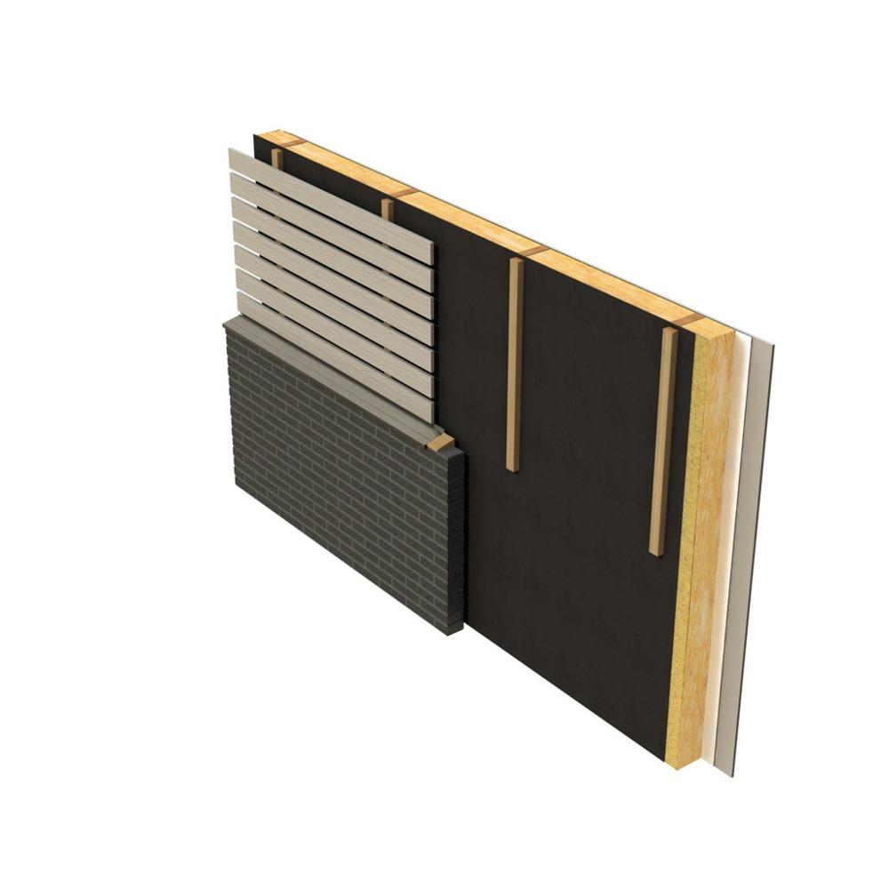 tyvek dak gevelfolie uv facade 1 5x50 meter 75 m2 bouwmaat. Black Bedroom Furniture Sets. Home Design Ideas