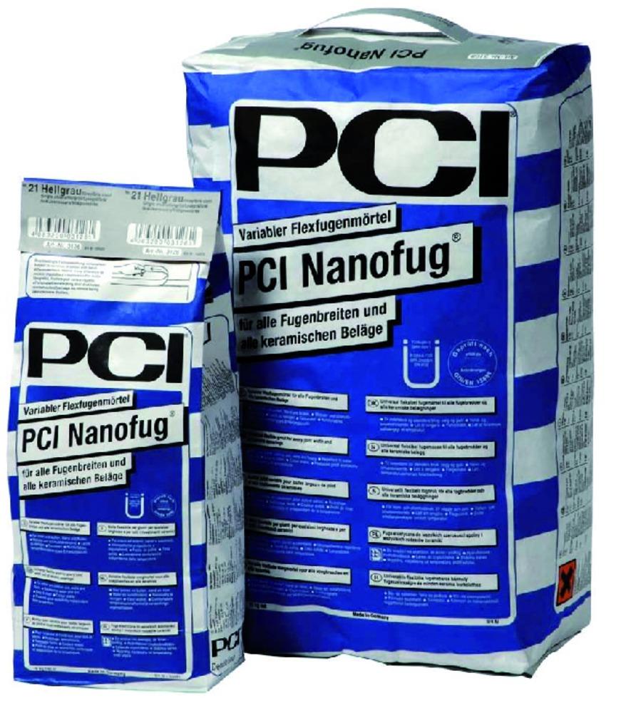 PCI Nanofug Voegmortel flexibel zwart 4 kg - Bouwmaat
