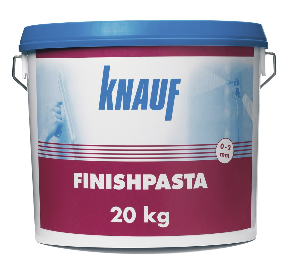 knauf finishpasta wit 20 kg bouwmaat. Black Bedroom Furniture Sets. Home Design Ideas