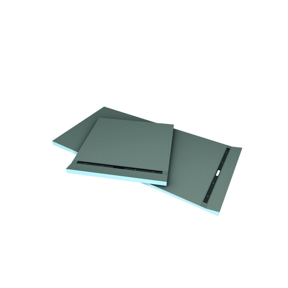 wedi fundo riolito douchevloerelement met sleufdrain. Black Bedroom Furniture Sets. Home Design Ideas