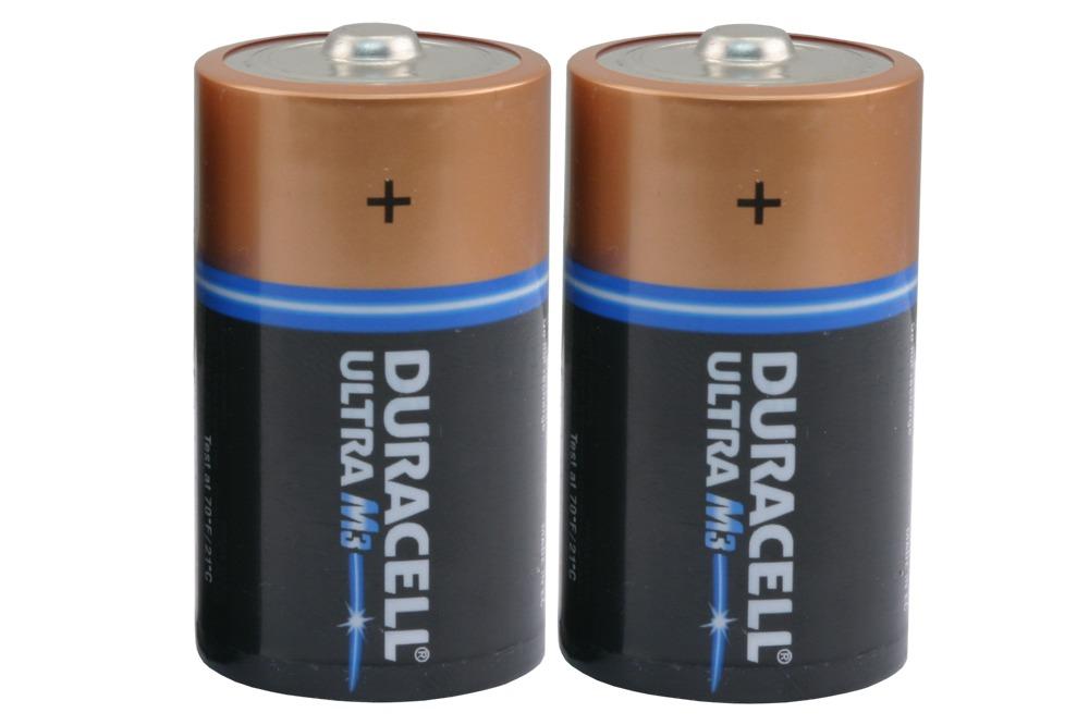 Duracell Ultra M3 batterij dikke staaf 1,5 volt, 2 stuks ...