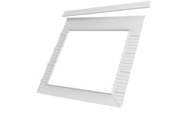 velux manchet bfx sk06 polypropyleen 114x118 cm antracietgrijs bouwmaat. Black Bedroom Furniture Sets. Home Design Ideas