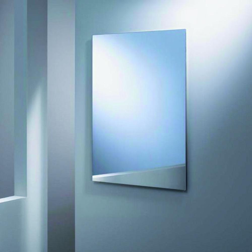 Plieger basic spiegel 60x40 cm zilver rechthoekig bouwmaat for Spiegel 60x40