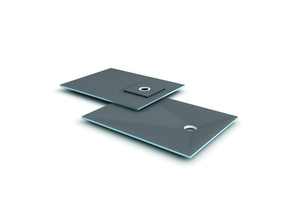 wedi fundo ligno douchevloerelement met putafvoer 90x90 cm bouwmaat. Black Bedroom Furniture Sets. Home Design Ideas