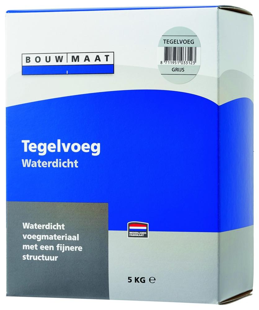 Bouwmaat Voegmiddel grijs 5 kg - Bouwmaat