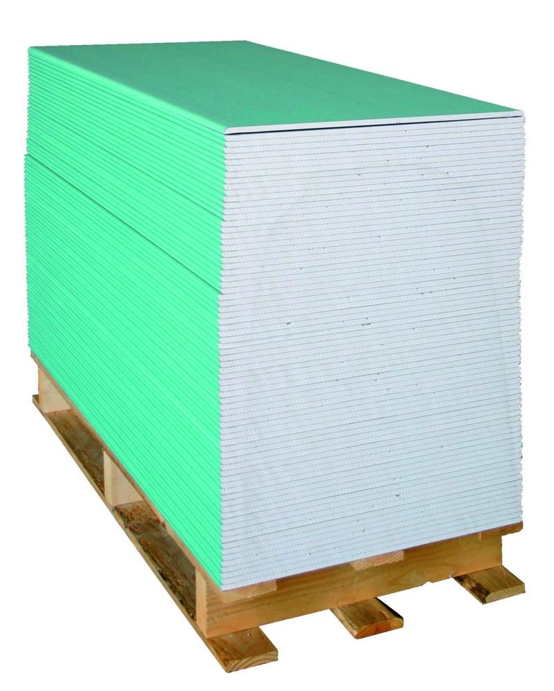 Knauf Greenboard A HRK 120x60 cm 9,5 mm groen - Bouwmaat