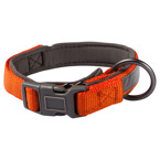 Veiligheidshalsband refl. s/m oranje  28-40x1,5 cm