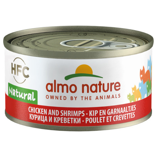 Hfc Cat Natural Blik 70 g kip