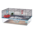 Hamsterkooi favola zwart  60x36,5x30 cm