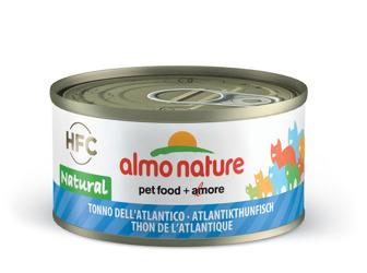 Hfc Cat Natural Blik 70 g Atlantische tonijn