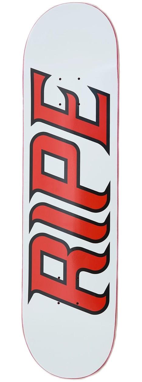 "RIPE LOGO SKATEBOARD DECK 8,25"" - WHITE"
