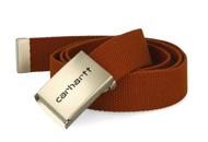 CARHARTT CLIP RIEM - CHROME BRANDY
