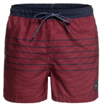 QUIKSILVER FINELINE 15'' SWIM SHORTS BRICK RED