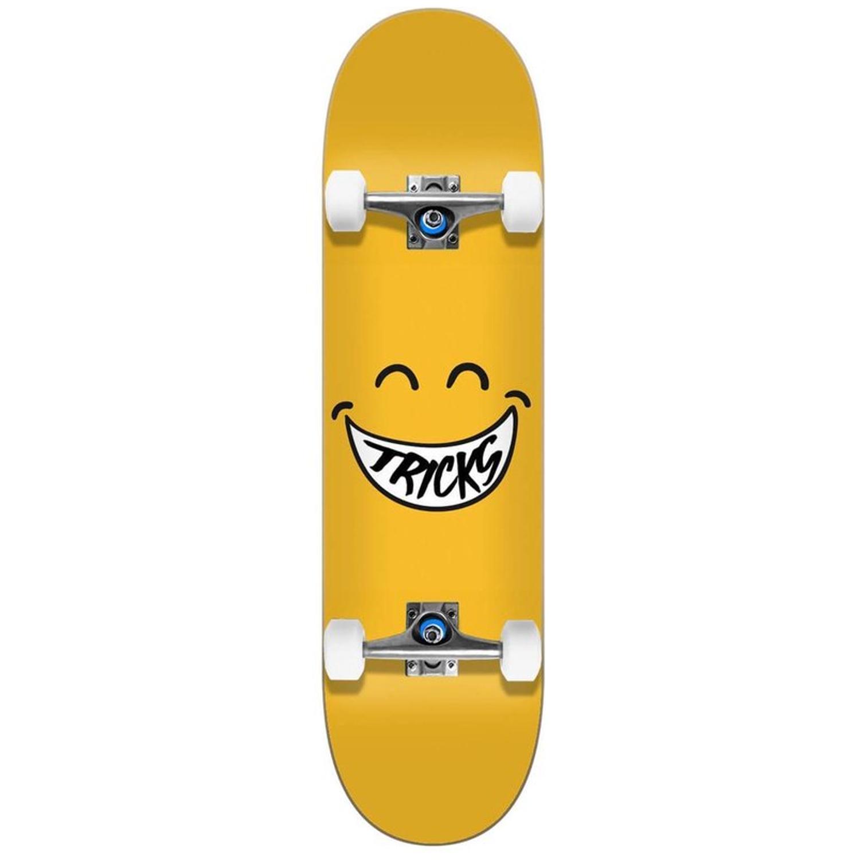 TRICKS SMILEY 7.375'' X 31.48'' SKATEBOARD COMPLETE