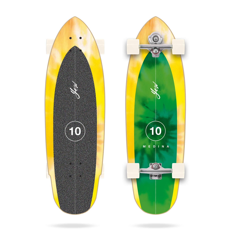 "YOW X MEDINA TIE DYE 33"" SURFSKATE"