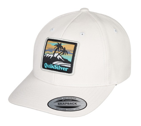 QUIKSILVER STARKNESS SNAPBACK PET - WHITE