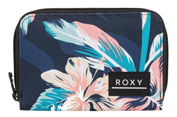 ROXY DEAR HEART ZIP-AROUND PORTEMONNEE - ANTHRACITE TROPICOCO S