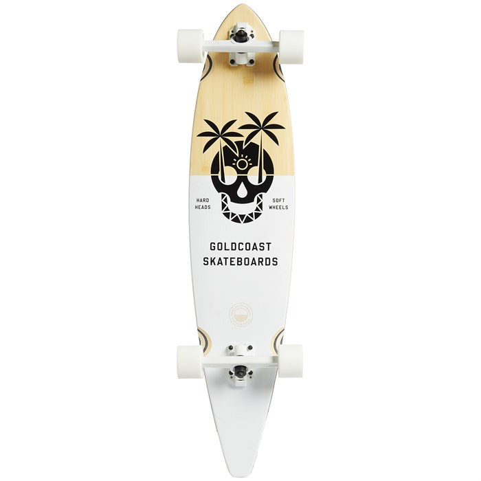 "GOLDCOAST DEAD DAYS PINTAIL LONGBOARD 37"" - MULTI COLOR"