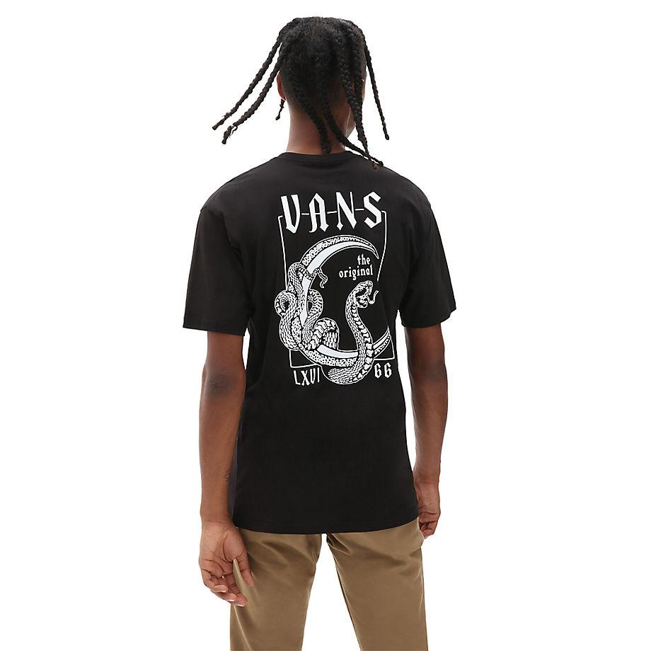 VANS CRESCENT T-SHIRT - BLACK