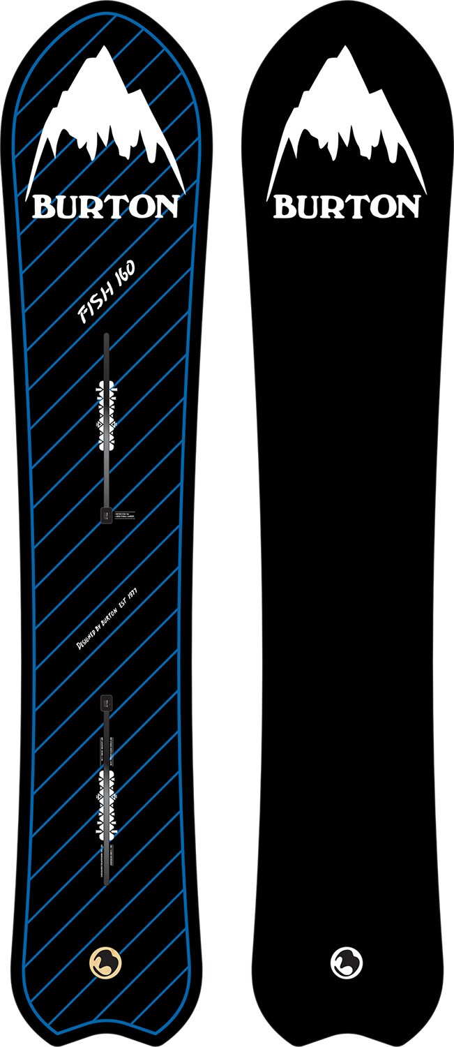 BURTON LIMITED RETRO FISH DIRECTIONAL CAMBER 156