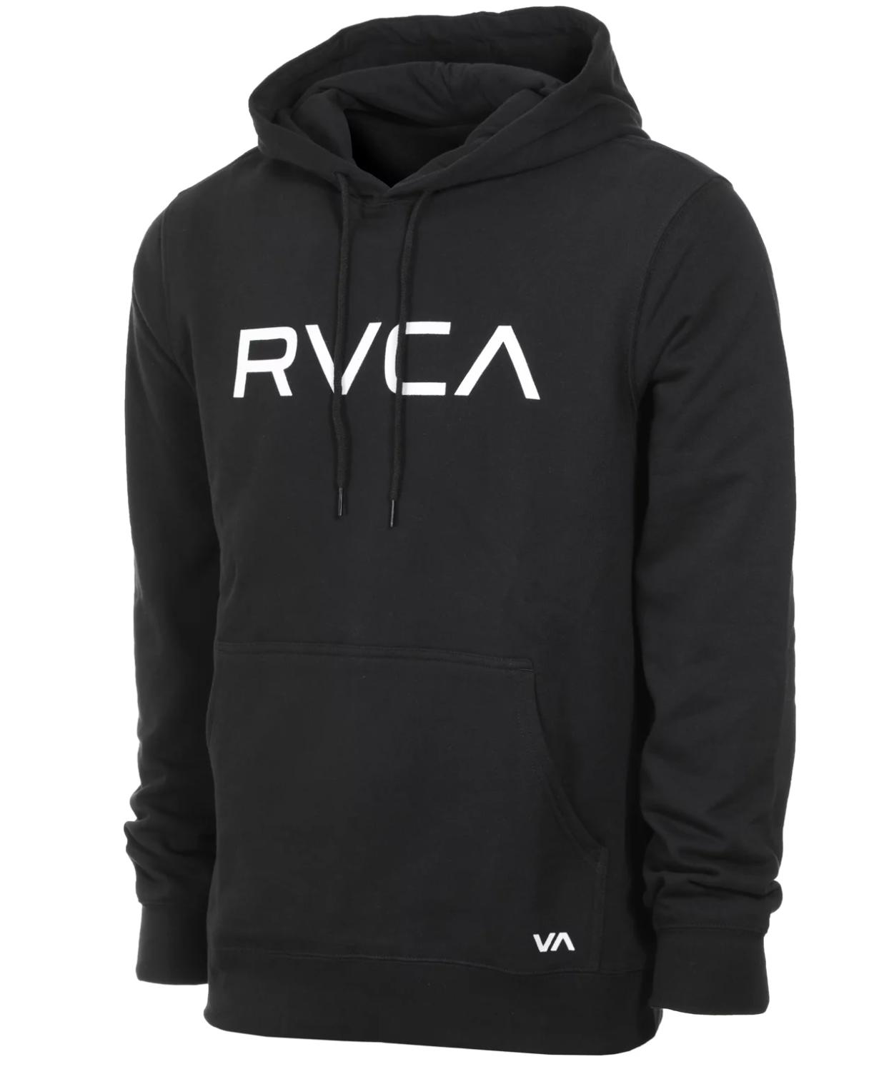 RVCA BIG HOODIE - BLACK