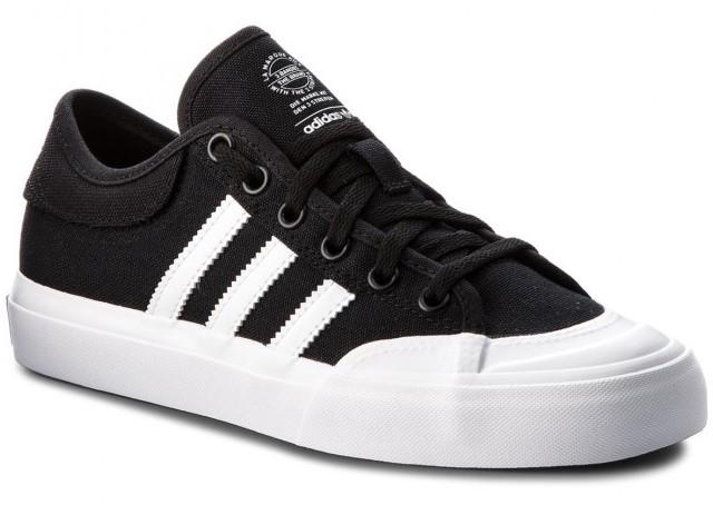 ADIDAS SCHOENEN MATCHCOURT - CORE BLACK/FOOTWEAR WHITE