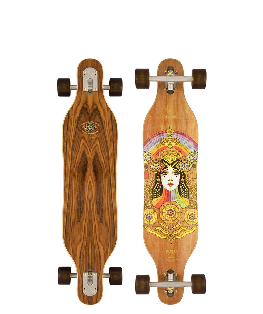 """ARBOR PERFORMANCE COMPLETE LONGBOARD 37"""" SOLSTICE B4BC AXIS"""