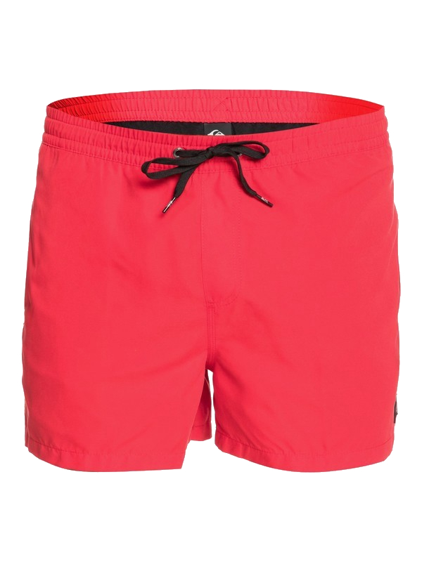"""QUIKSILVER EVERYDAY VOLLEY 15"""" BOARDSHORT - HIGH RISK RED"""