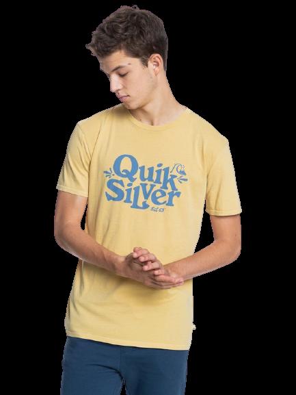 QUICKSILVER TALL HEIGHTS TSHIRT - RATTAN