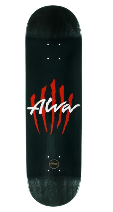 "ALVA SCRATCH 8.25"" SKATEBOARD DECK"