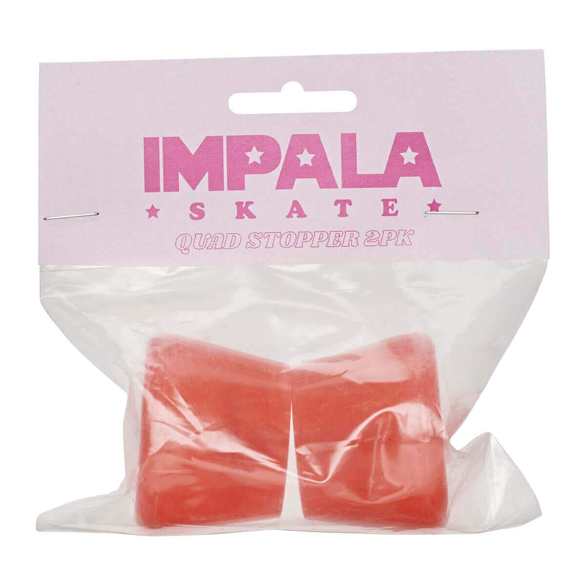 IMPALA 2-PACK ROLSCHAATS STOPPER SET -  RED