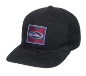 QUIKSILVER DORRY SNAPBACK PET - BLACK