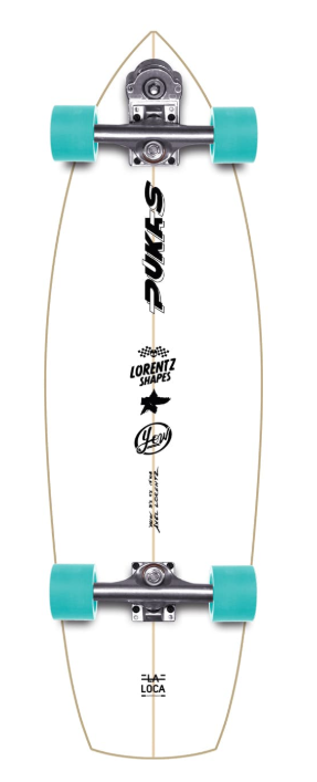 YOW LA LOCA 31.5 SIGNATURE SERIES SURFSKATE