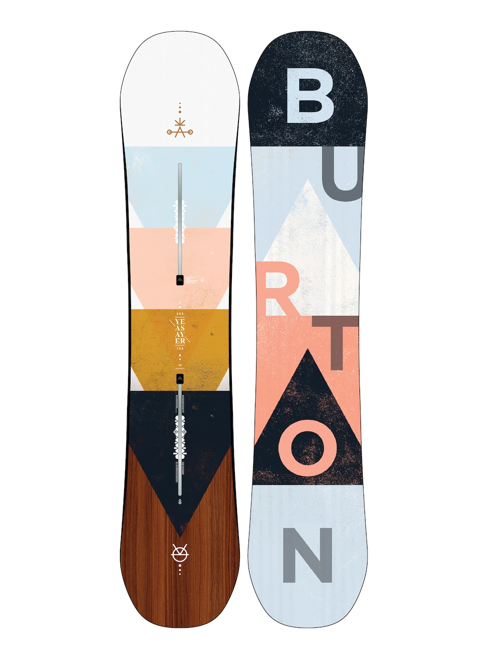 Burton Yeasayer Flat Top Snowboard