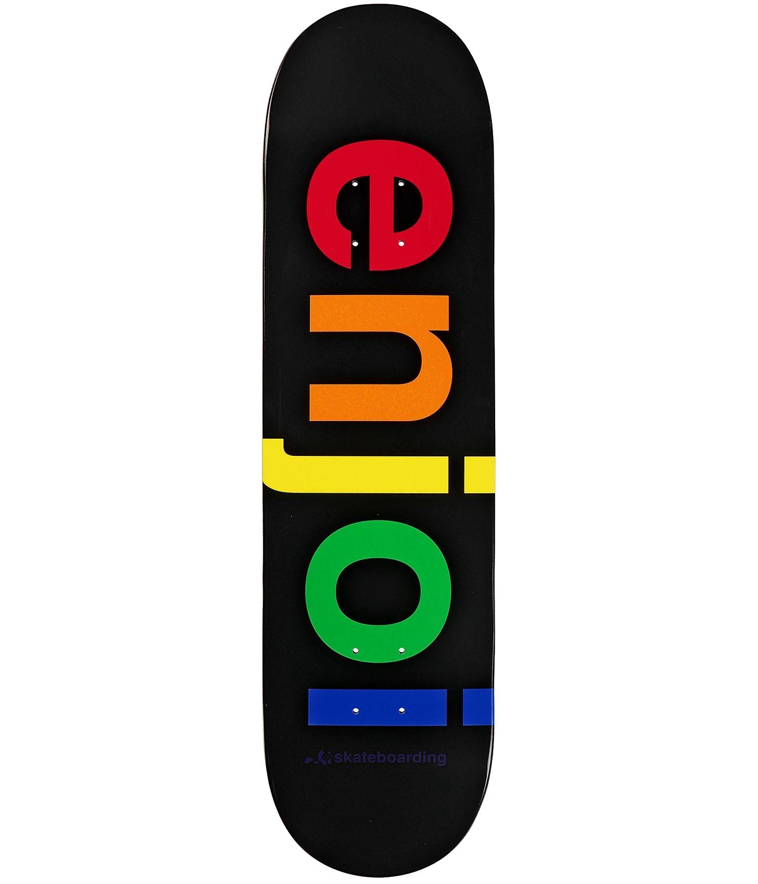 "ENJOI SPECTRUM R7 8.25"" SKATEBOARD DECK - BLACK"