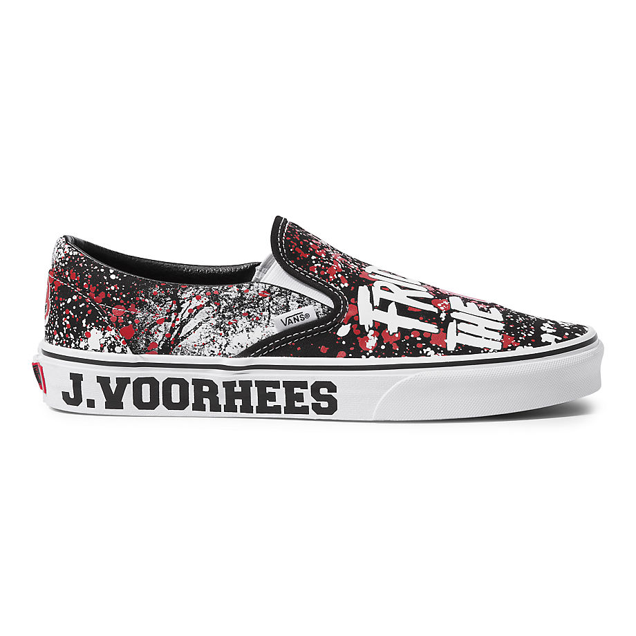 VANS X FRIDAY THE 13TH CLASSIC SLIP-ON SCHOENEN (TERROR) - FRIDAY THE 13TH