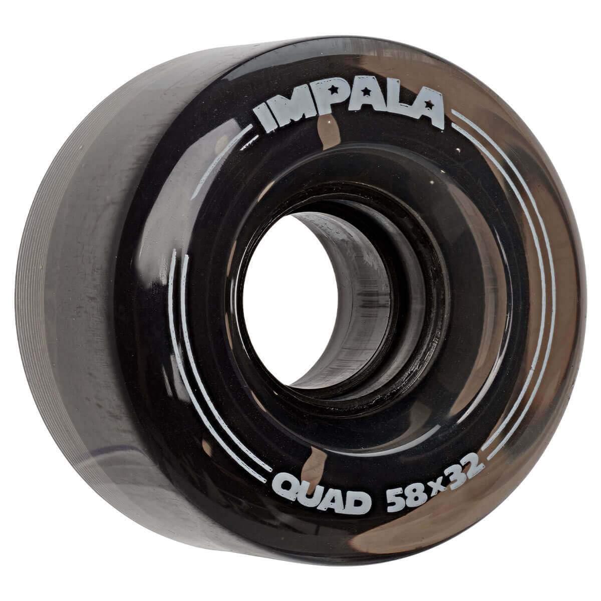 IMPALA REPLACEMENT ROLSCHAATS WIELEN (4-PACK) - BLACK